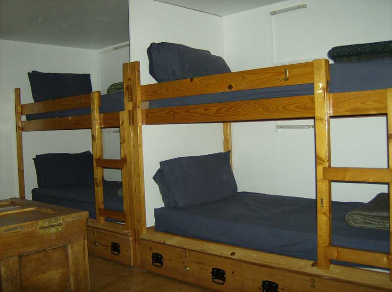 Galson Farm Hostel bunks