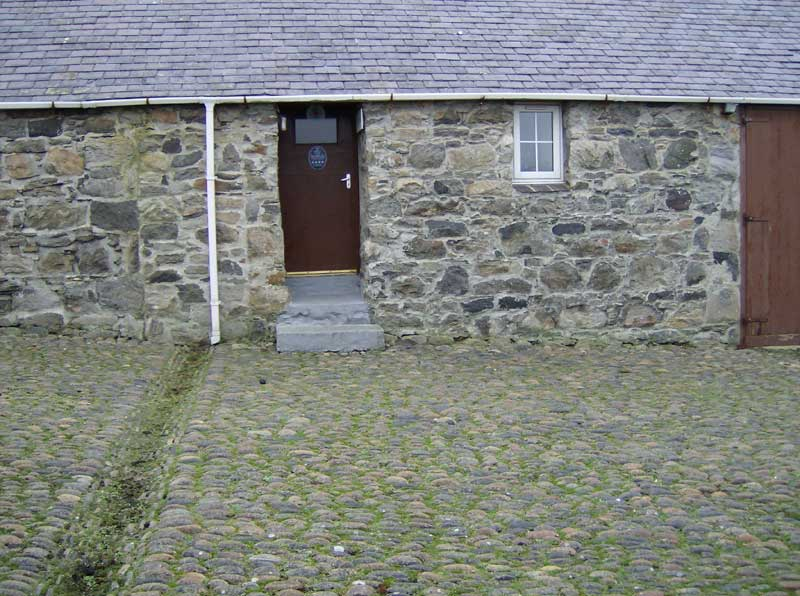Galson Farm Hostel front