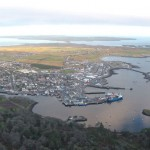 Stornoway from the air