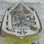 Broch cutaway drawing