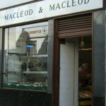 MacLeod and MacLeod Black Pudding shop