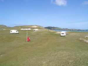 Valtos Beach campsite
