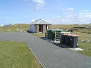 Valtos Beach toilets