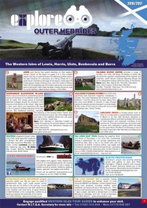 Outer Hebrides Guide with maps