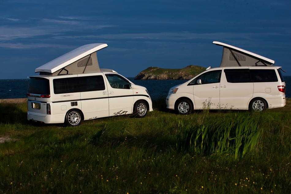 Outer Hebrides Campervan Hire