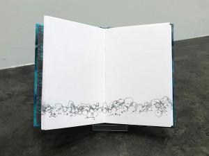 The Beach House Gallery - handmade book