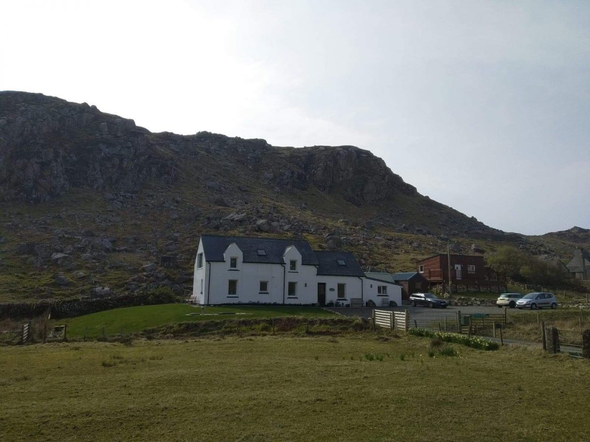 Taigh Geal, Cliff, Uig