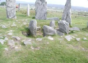 Callanish standing Stones chambered cairn