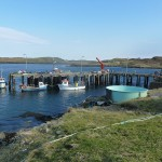 Kirkibost Pier on Great Bernera