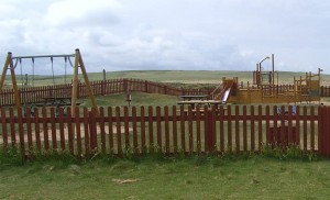 The Ness Playpark children's attractions