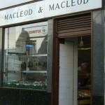 MacLeod and MacLeod Black Pudding shop