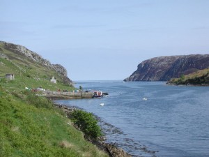 The Pier in South Lochs areas
