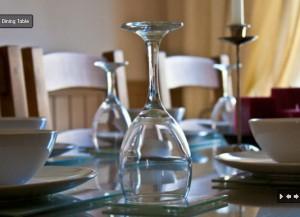 Stornoway Holiday Cottage Dining
