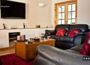 Stornoway Holiday Cottage Lounge