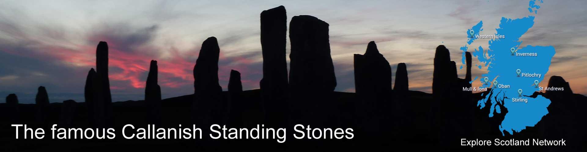 Isle of Lewis standing stones