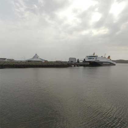Stornoway Harbour Isle of Lewis