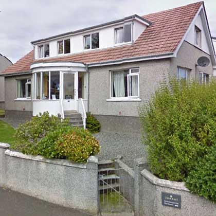 Accommodation Bed and breakfast on the Isle of Lewis