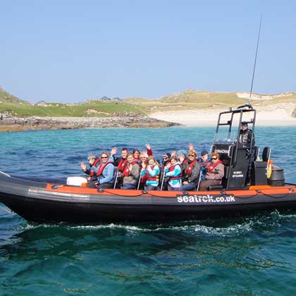 boating on the Isle of Lewis