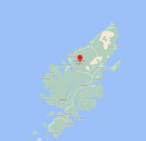Isle of Lewis map
