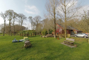 The woodland parks and gardens cafe